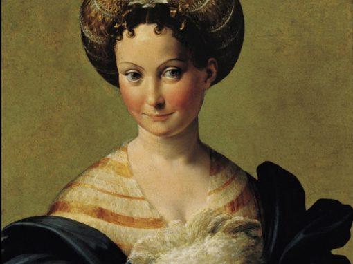 La sposa turca, Correggio e Parmigianino